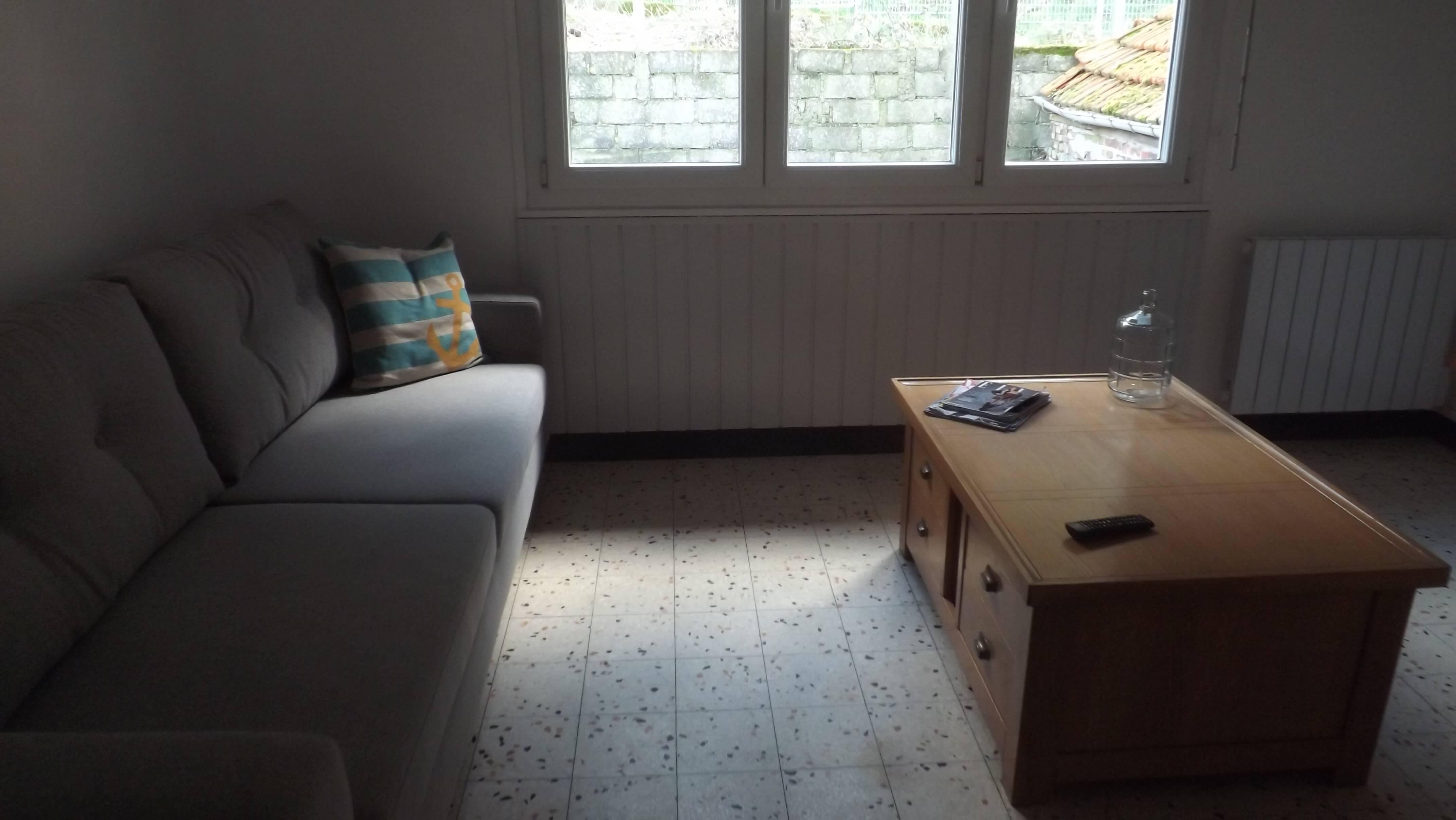 Séjour au tréport : appartement à louer