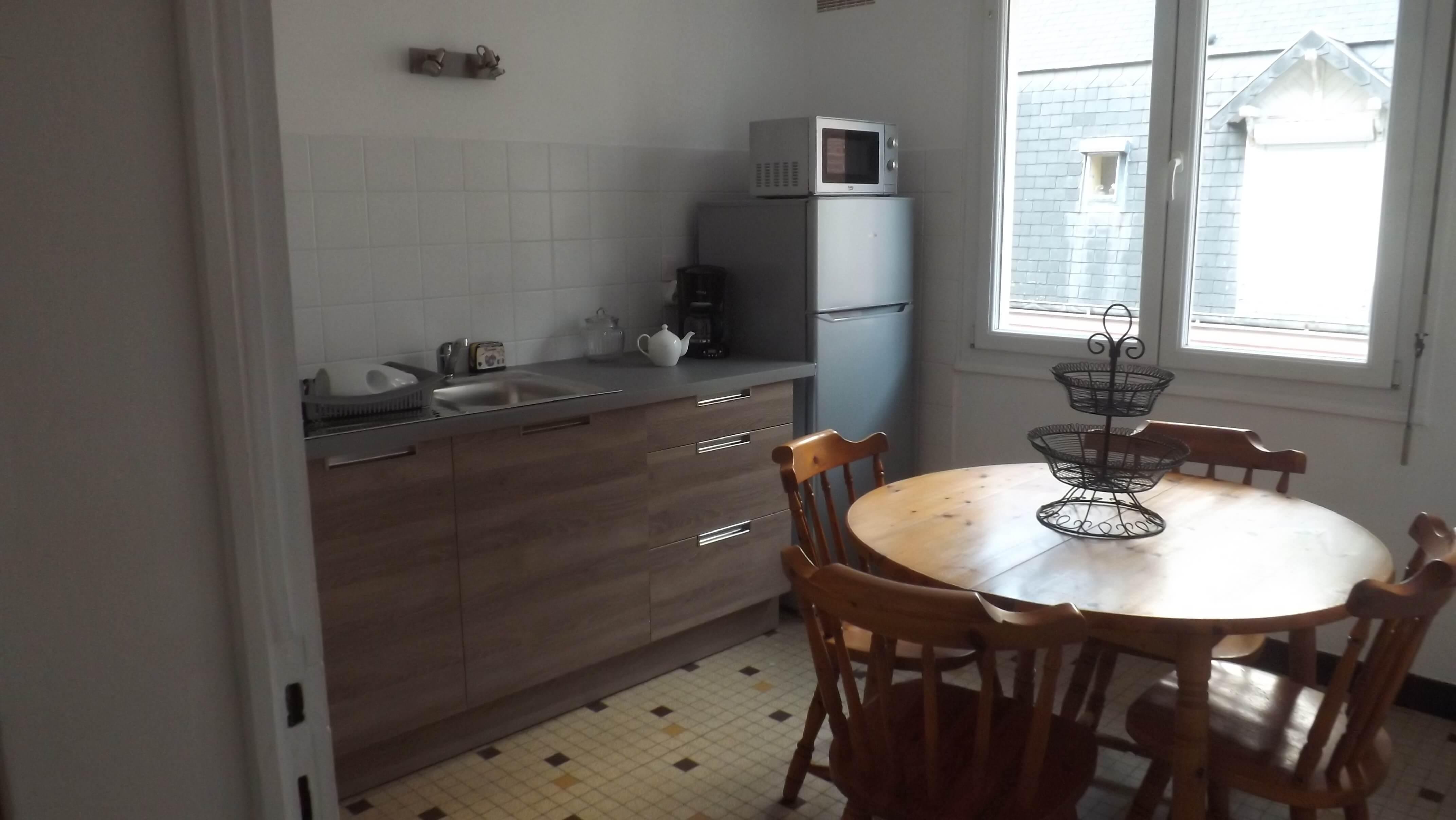 Appartement Tréport en location avec cuisine équipée